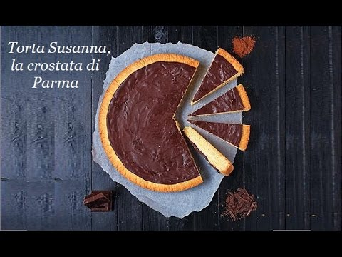 torta susanna, la crostata golosa di parma - ricetta