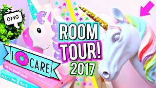 FUN & COLORFUL ROOM TOUR! Easy Room Decor Inspiration! Summer Bedroom Tour!