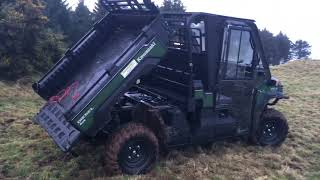 3. DGWGO TEST DRIVE THE 2018 KAWASAKI MULE PRO-DX ATV