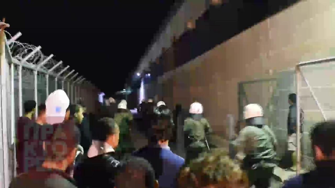 Χίος: Επεισόδια με έξι τραυματίες και 12 προσαγωγές