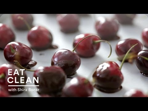 Dark Chocolate-Dipped Cherries – Eat Clean with Shira Bocar