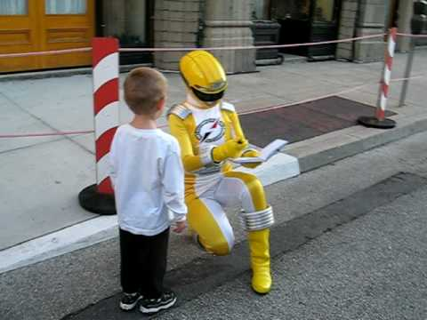 Dylan meets the Yellow Power Ranger.avi