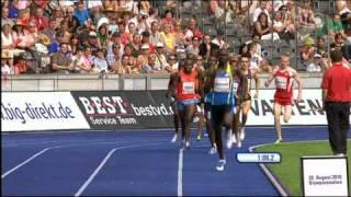 Video David Rudisha 1:41.09 World Record in Berlin - HQ MP3, 3GP, MP4, WEBM, AVI, FLV April 2019