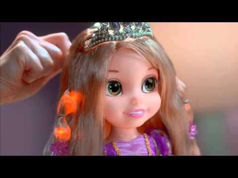 Рапунцель со светящимися волосами купить