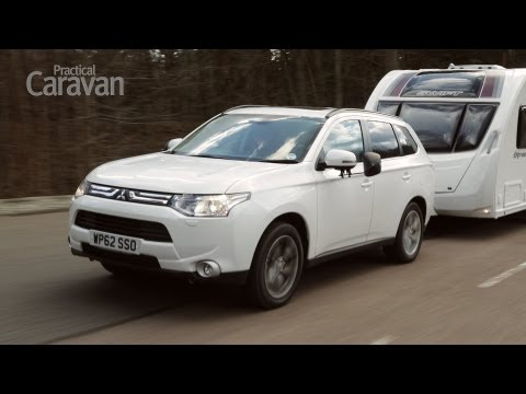 Practical Caravan's Mitsubishi Outlander 2.2 DI-D GX5 auto video review