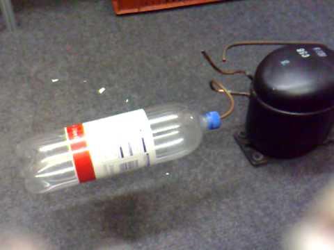 寶特瓶一直充氣下場就是…