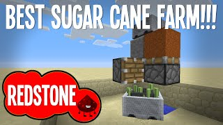 BEST AUTO SUGAR CANE FARM - MINECRAFT