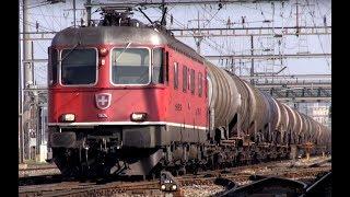 Pratteln Switzerland  city photos : Zug um Zug-164 Güterzüge in Pratteln, Schweiz - 164 freight trains,Switzerland - Zug,trainfart,train