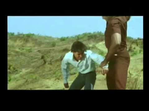 Vicky (Salman Khan) Fights with Mahesh (Puneet Issar) and his  colleague