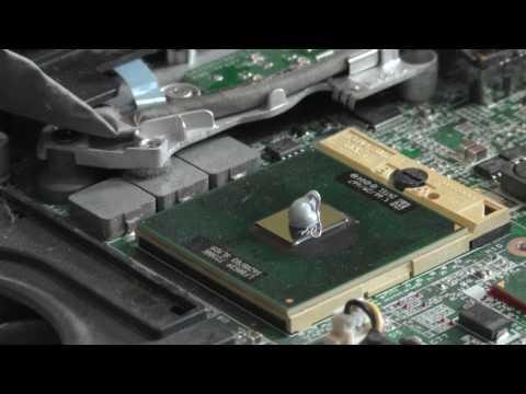 Comment changer la pâte thermique d'un processeur d'ordinateur portable