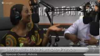 Adeola Fayehun of Keeping It Real on Sahara FM Radio