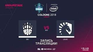 BIG vs Liquid - ESL One Cologne 2018 - de_dust2 [GodMint, Anishared]