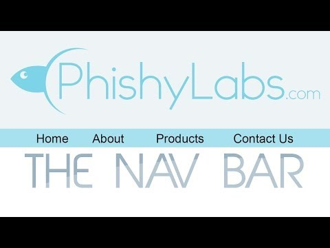 Create a Nav Bar | HTML & CSS Tutorial
