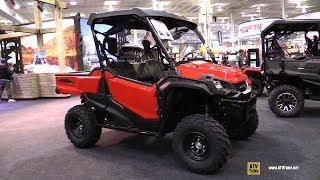 9. 2019 Honda Pioneer 1000 EPS Utility ATV - Walkaround - 2018 Toronto ATV Show