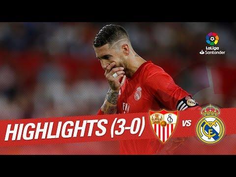 Resumen de Sevilla FC vs Real Madrid (3-0) - Thời lượng: 1:49.