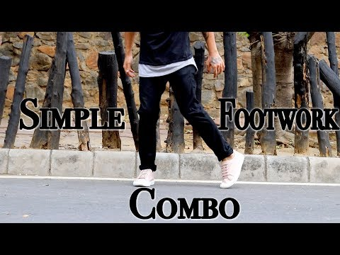 Simple Footwork Combo You Should Know | SHUFFLE DANCE TUTORIAL
