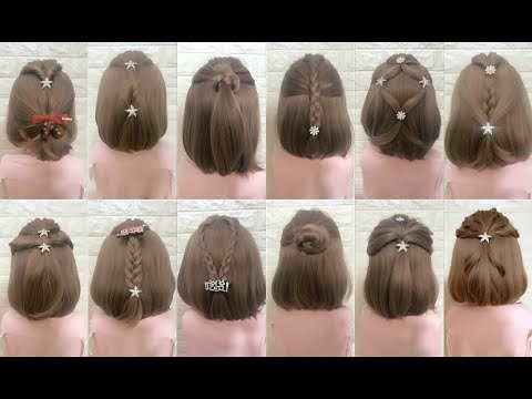 Short hair styles - Top 30 Amazing Hairstyles for Short Hair  Best Hairstyles for Girls  Part 4