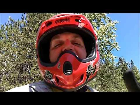 MOUNTAINOUS UPHILL BIGFOOT SASQUATCH MOUNTAIN BIKE WORKOUT - 2018 (видео)