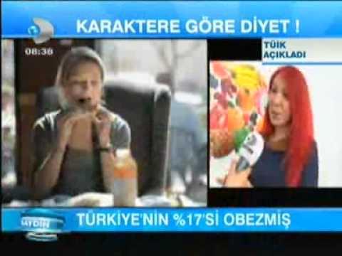 Diyetisyen ve Yaşam Koçu Gizem ŞEBER; 26 Nisan 2013'te Kanal D İrfan Değirmenci ile Günaydın programındaydı.