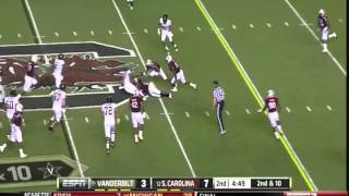 Melvin ingram vs Vanderbilt (2011)