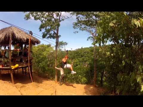 Diversão na Tirolesa em Mambaí, Goiás -  Penna Turismo