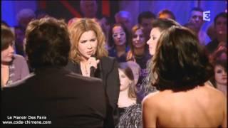 Chimene & Florent Pagny - L Aigle noir à Chabada - YouTube