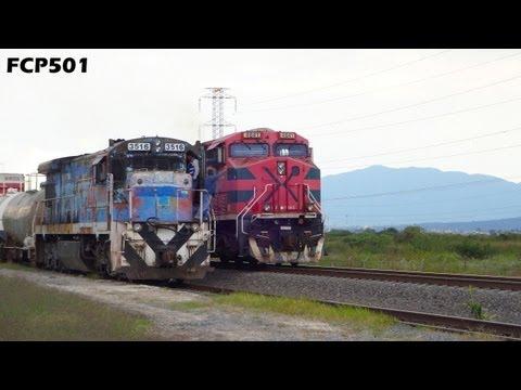 Ferromex: Zona Industrial El Salto Jalisco. Dist. La Barca vía