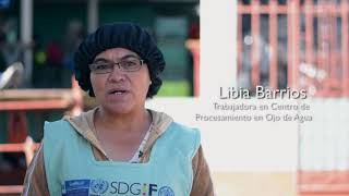 http://www.fao.org/guatemala/fao-en-guatemala/en/Procesar las hortalizas en centros especializados permite venderlas a un mejor precio, dándole a las personas que se dedican a la agricultura la oportunidad de incrementar sus ingresos económicos. Además, cada centro se convierte en una nueva fuente de ingreso para la comunidad en donde está trabajando. FAO y MAGA ha brindado apoyo técnico para impulsar la creación y el crecimiento de tres centros de procesamientos en las aldeas Ojo de Agua, Bethania y Villa Hermosa, todas ubicadas en San Marcos.Subscribe! http://www.youtube.com/subscription_center?add_user=FAOoftheUNFollow #UNFAO on social media!* Facebook - https://www.facebook.com/UNFAO * Google+ - https://plus.google.com/+UNFAO * Instagram - https://instagram.com/unfao/ * LinkedIn - https://www.linkedin.com/company/fao * Twitter - http://www.twitter.com/faoknowledge © FAO: http://www.fao.org