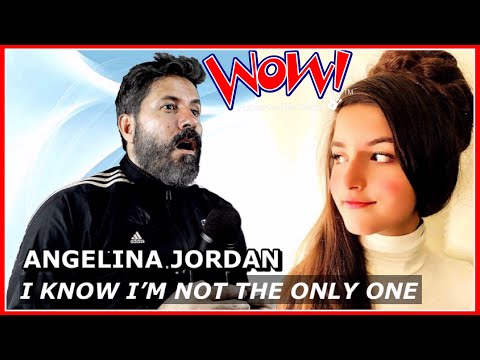 REACTION | Angelina Jordan - I know I'm Not The Only One (By Sam Smith)