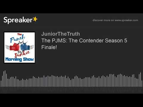 The PJMS: The Contender Season 5 Finale!