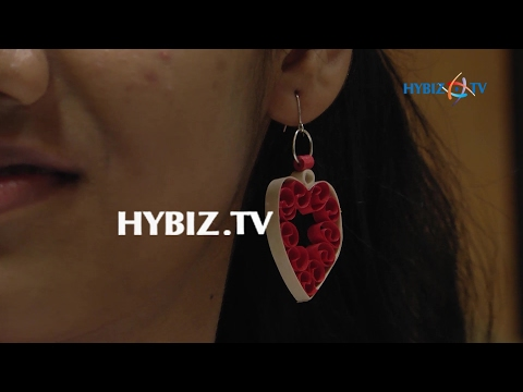 DIY-How to Make Quilling Paper Earring
