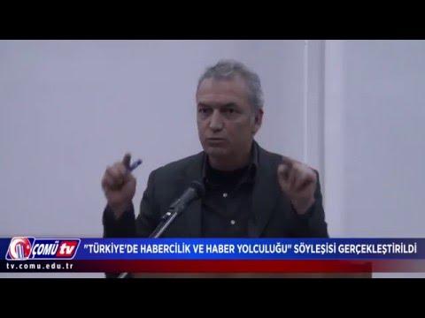 """""""Türkiye'de Habercilik ve Haber Yolculuğu"""" Söyleşisi Gerçekleştirildi"""