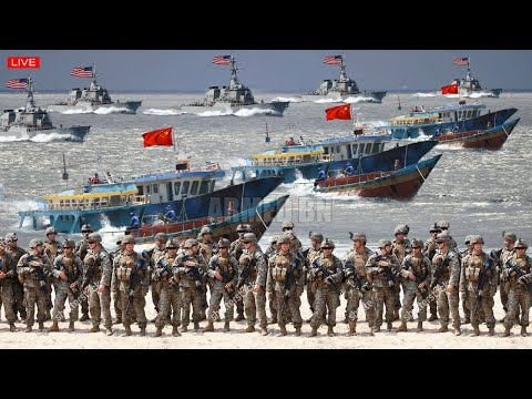 Clashs rise (Nov 29) US Navy deploy troops and warships to sink China 100 recalcitrant fishing fleet