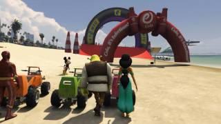 Video LEARN COLORS Little Cars Jumping Beach SUPERHEROES for Children MP3, 3GP, MP4, WEBM, AVI, FLV Mei 2017