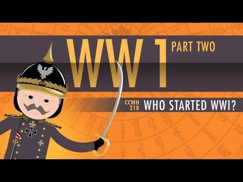 Who Started World War I? Crash Course World History [10:55]