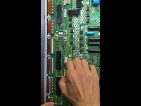 Panasonic buffer boards TNPA5341, TNPA5340 removal and install