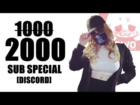 1̶0̶0̶0̶ 2000 SUB SPECIAL | DISCORD AND PATREON | THANK YOU