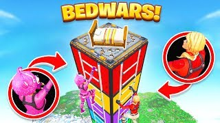 PROTECT The BED SKYWARS *NEW* Game Mode in Fortnite Battle Royale