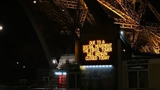 A Social Movement Closed The Eiffel Tower