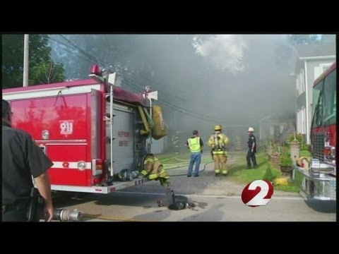 Multiple jurisdictions respond to New Lebanon house fire