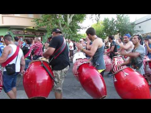 MONTEVIDÉU/URU - Ensaio de Camdombe (Dança com atabaques)