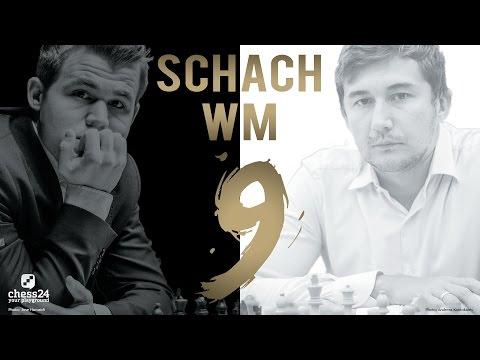 Schach WM 2016: Carlsen - Karjakin Partie 9 Schach  ...