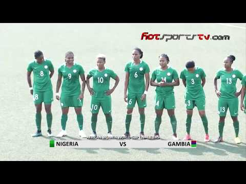 Highlights: Falcons Spell Gambia In 6-Nil Thrashing