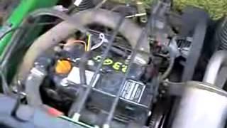 6. Cold Start John Deere Gator HPX 4x4 2006