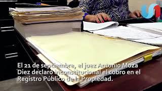 Eliminan impuestos y cobro por documentos públicos