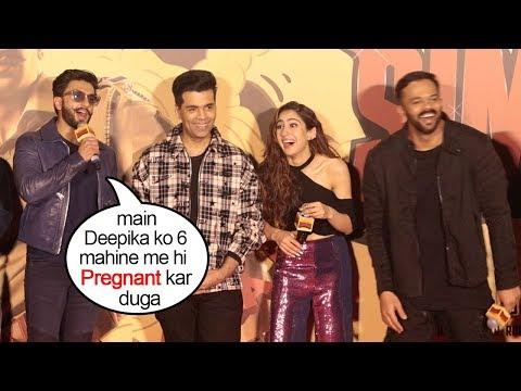 Ranveer Singhs FUNNIEST Reaction On Deepika Padukone PREGNANCY After Marriage_A héten feltöltött legjobb vicces videók