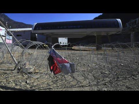 Südkorea: Totenstille in Pyeongchang ein Jahr nach Olym ...