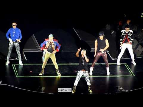 [Fancam HD] Big Bang - Fantastic Baby - Singapore Alive Tour 2012 120928
