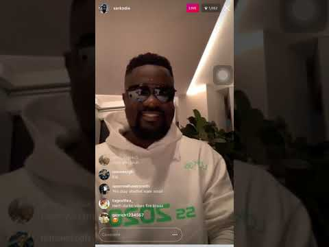 Sarkodie talks about the sark foundation