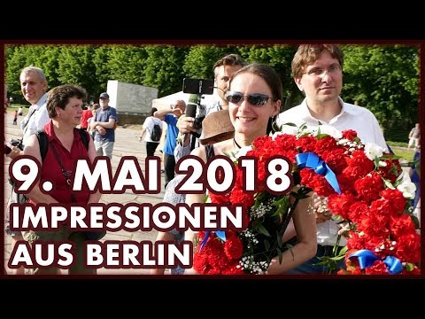 Tag des Sieges, 9. Mai, Treptower Park in Berlin